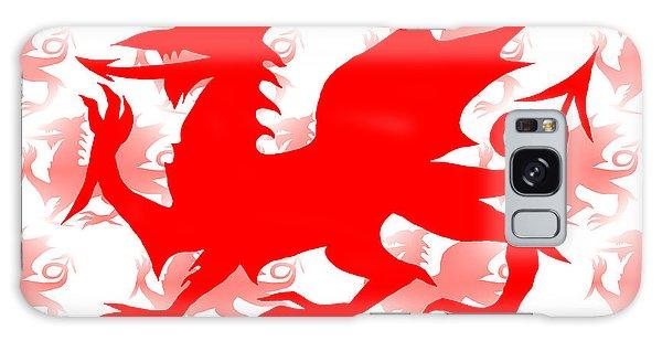 Welsh Dragon Galaxy Case by Barbara Moignard