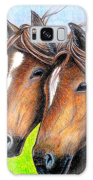 Welsh Mountain Ponies Galaxy Case