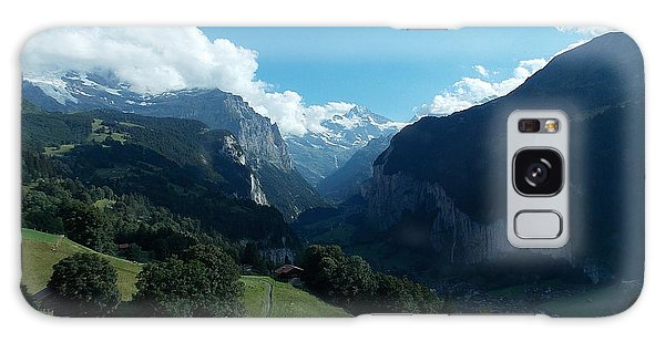 Wengen View Of The Alps Galaxy Case