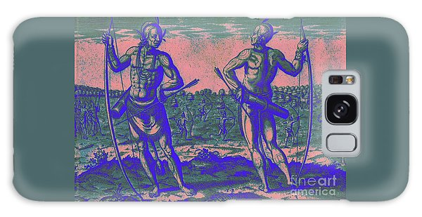 Weroans Of Virginia 1590 Galaxy Case by Peter Gumaer Ogden