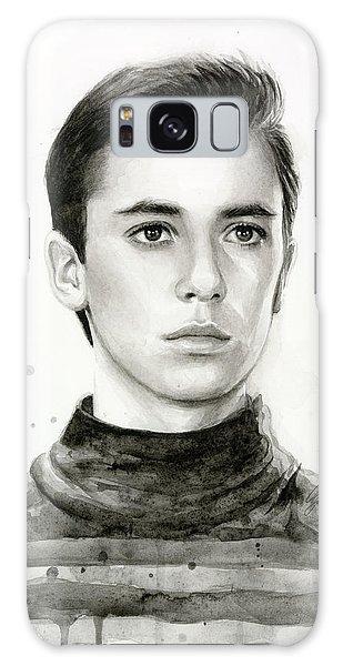Nerd Galaxy Case - Wesley Crusher Star Trek Fan Art by Olga Shvartsur