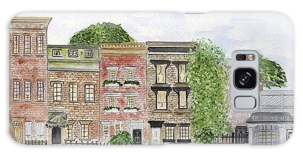 West 11th St In Greenwich Village Galaxy Case