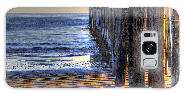 West Coast Cayucos Pier Galaxy Case