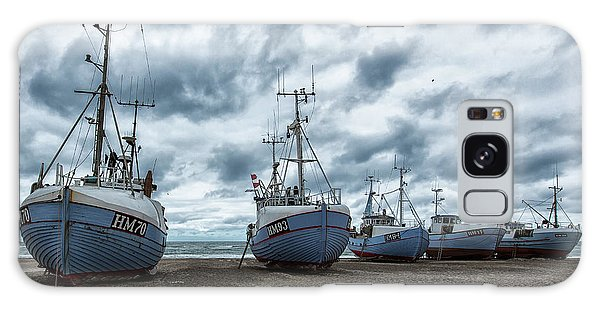 Tides Galaxy Case - West Coast Fishing Boats. by Leif L??ndal