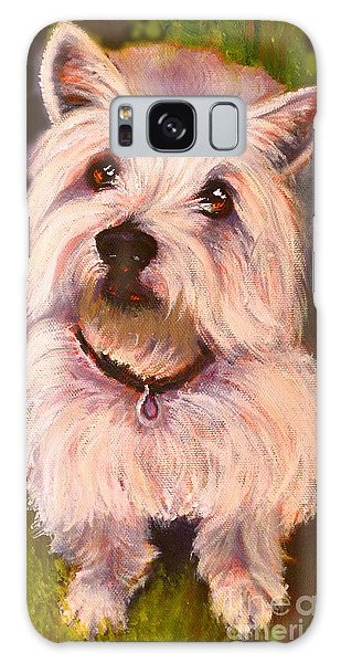 West Highland Terrier Reporting For Duty Galaxy Case