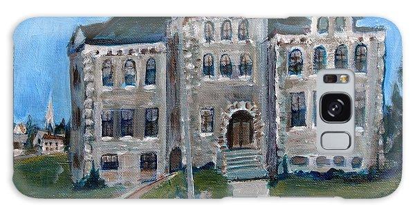 West Hill School In Canajoharie New York Galaxy Case by Betty Pieper
