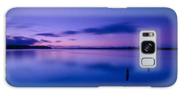 West Loch Sunrise Galaxy Case