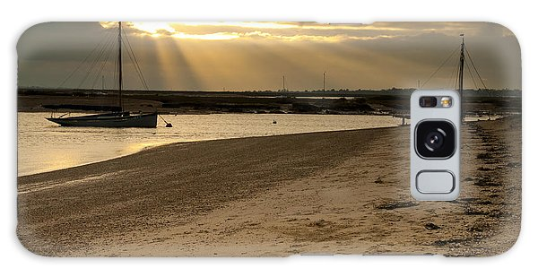 West Mersea Beach Galaxy Case