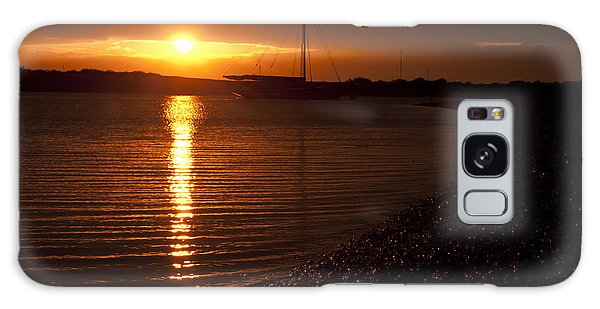 West Mersea Sunset Galaxy Case