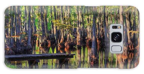 West Monroe Swamp Dock Galaxy Case