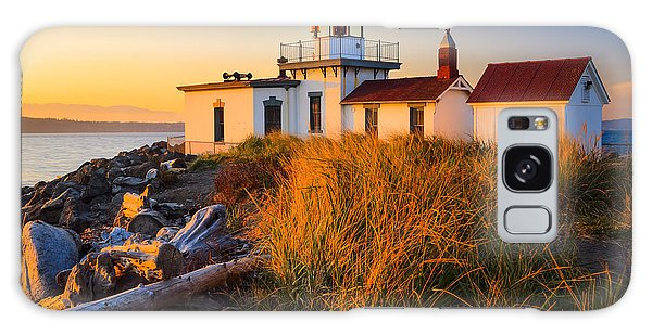 West Point Lighthouse Galaxy Case