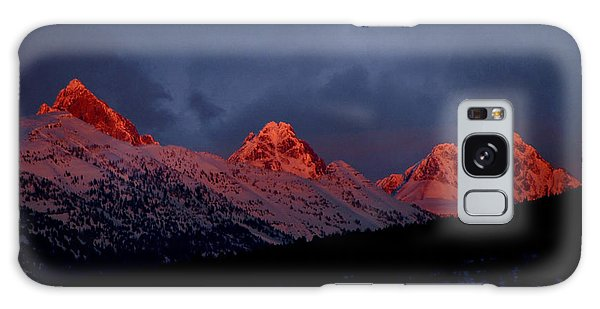 West Side Teton Sunset Galaxy Case