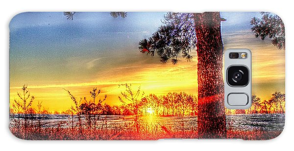 West Tennessee Sunrise Galaxy Case
