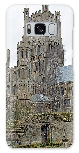 West Tower Of Ely Cathedral  Galaxy Case by Tony Murtagh