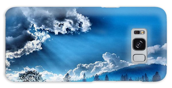 Westerly Clouds Galaxy Case