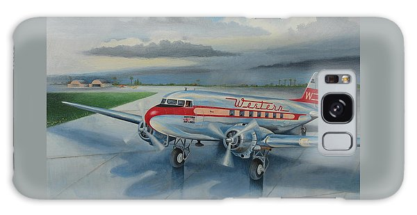 Western Airlines Dc-3 Galaxy Case by Stuart Swartz