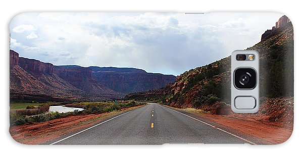 Western Colorado Drive Galaxy Case