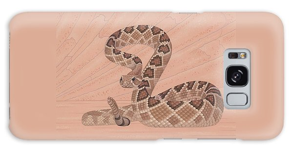 Western Diamondback Rattlesnake Galaxy S8 Case