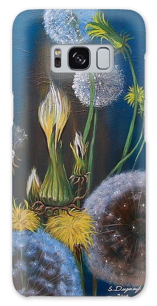 Western Goat's Beard Weed Galaxy Case by Sharon Duguay