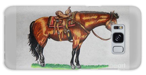Western Horse Galaxy Case