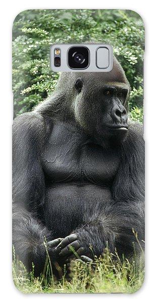 Western Lowland Gorilla Male Galaxy Case by Konrad Wothe