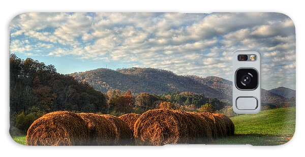 Western North Carolina Hay Field Galaxy Case