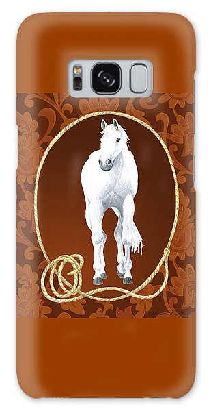 Western Roundup Standing Horse Galaxy Case