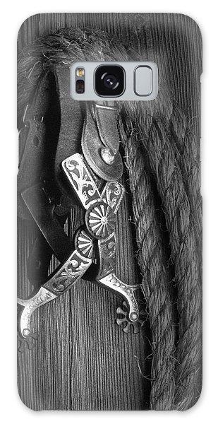 Equine Galaxy Case - Western Spurs by Tom Mc Nemar