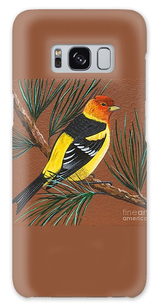 Western Tanager Galaxy Case