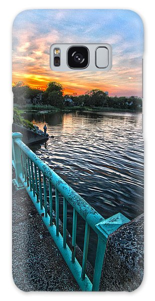 Westhampton-quogue Bridge Galaxy Case