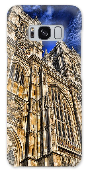 Westminster Abbey West Front Galaxy Case