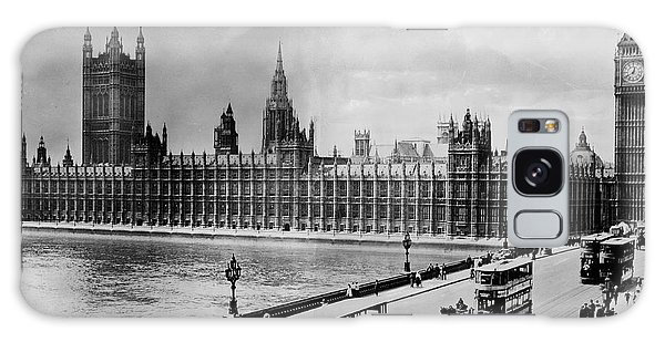Houses Of Parliament Galaxy Case - Westminster Bridge And Parliament by Library Of Congress