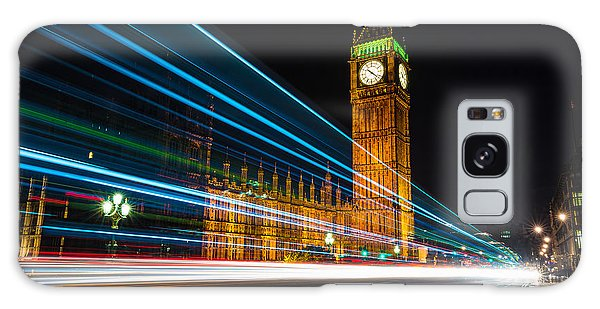 Westminster Light Trails Galaxy Case
