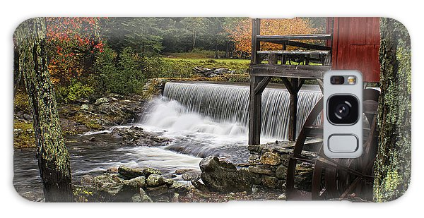 Weston Grist Mill Galaxy Case by Priscilla Burgers