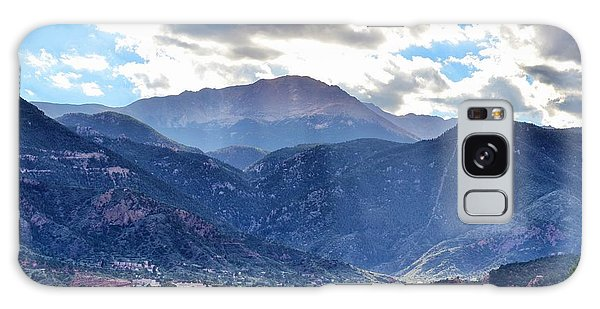 Westside Colorado Springs Galaxy Case by Clarice  Lakota