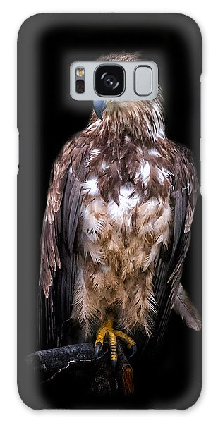 Wet Feathers Galaxy Case