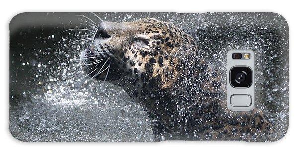 Wet Jaguar  Galaxy Case by Shoal Hollingsworth