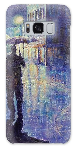 Wet Night Galaxy Case by Susan DeLain