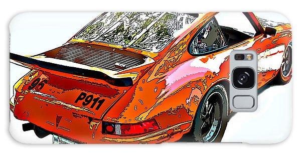 Wet Paint Porsche Sp911 Galaxy Case