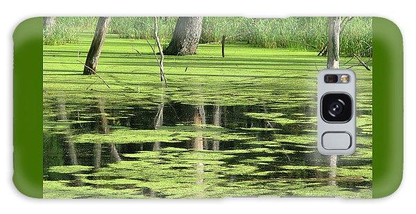 Wetland Reflection Galaxy Case by Ann Horn