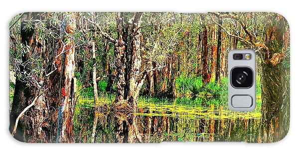 Wetland Reflections Galaxy Case by Wallaroo Images