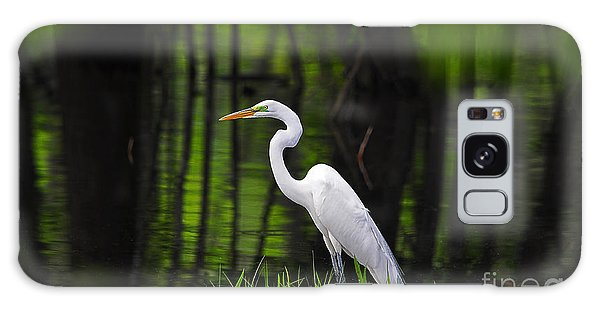 Wetland Wader Galaxy Case