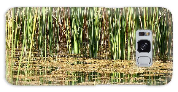 Wetlands Galaxy Case by Laurel Powell