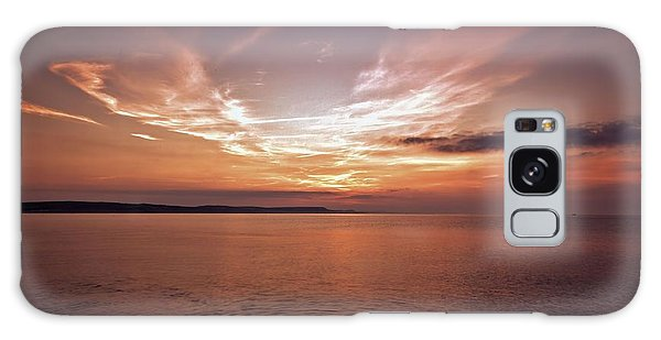 Weymoth Morning Glory Galaxy Case by Stephen Melia