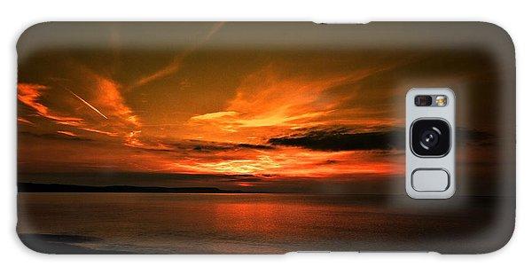 Weymouth  Golden Sunrise Galaxy Case