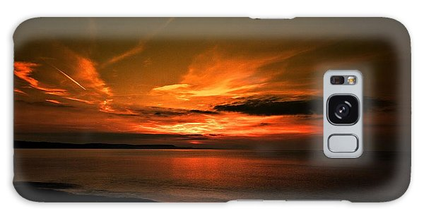 Weymouth  Golden Sunrise Galaxy Case by Stephen Melia