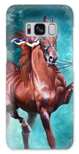 Horse Galaxy Case - Wgc Courageous Lord by Jeanne Newton Schoborg