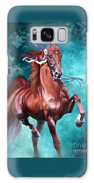 Equine Galaxy Case - Wgc Courageous Lord by Jeanne Newton Schoborg