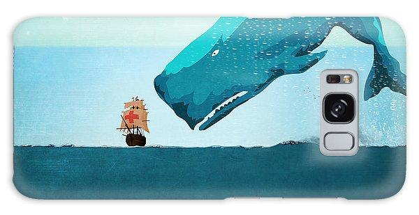 Whale Galaxy Case by Mark Ashkenazi