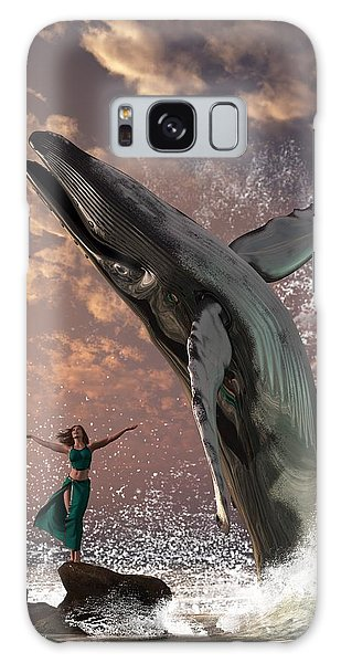Whale Watcher Galaxy Case